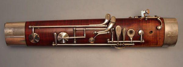 Gebrauchtes Fagott Heckel Biebrich Nr. 7197