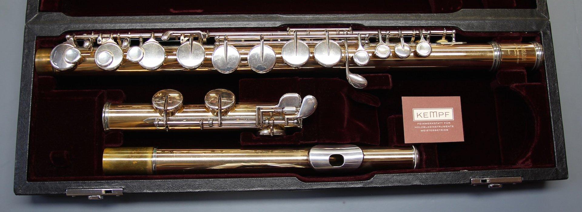 gebrauchte Altflöte Yamaha