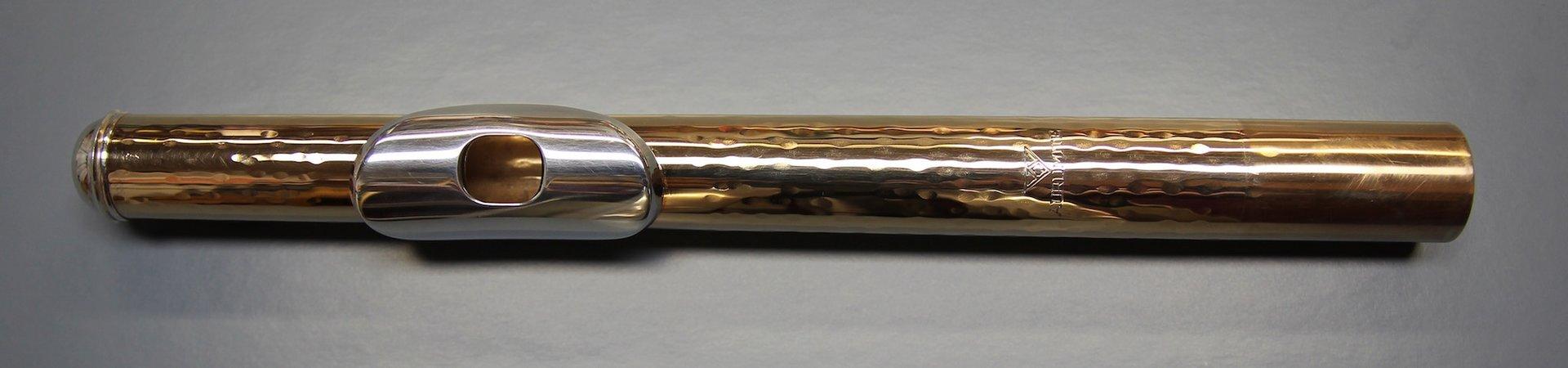 gebrauchtes Kopfstück Powell Aurumite und Powell Signature Silber