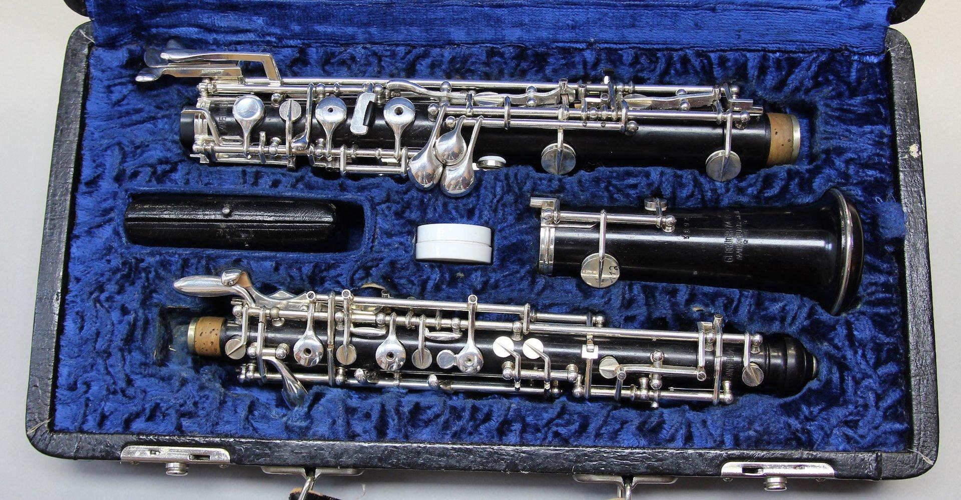 Oboe Gebrüder Mönnig Markneukirchen