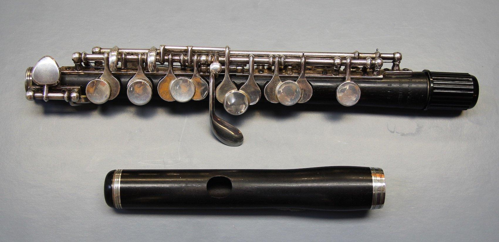 Piccoloflöte Philipp Hammig Markneukirchen
