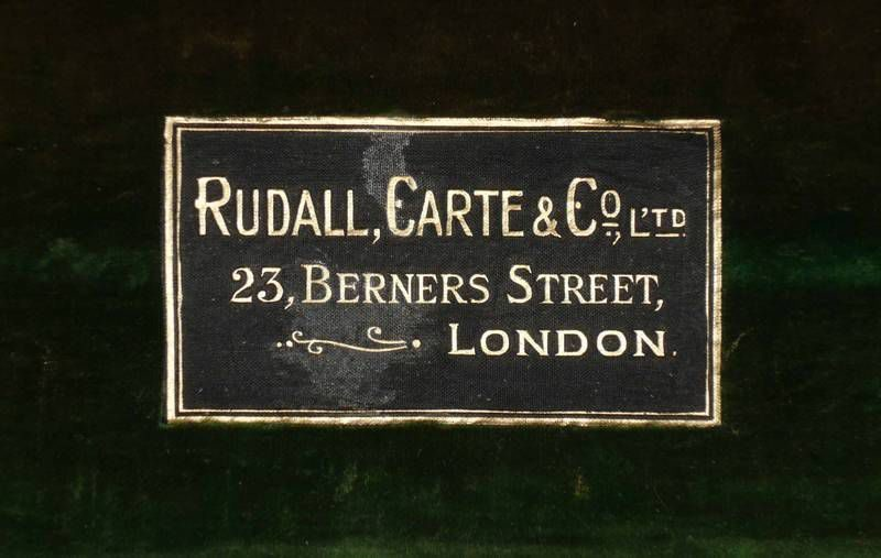 Holzflöte Rudall Carte London