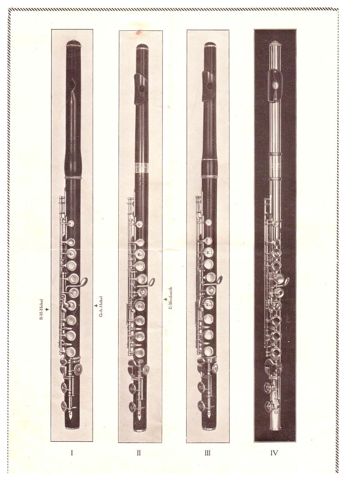 Schreiber Carl Prospekt Abbildung Holzfloeten