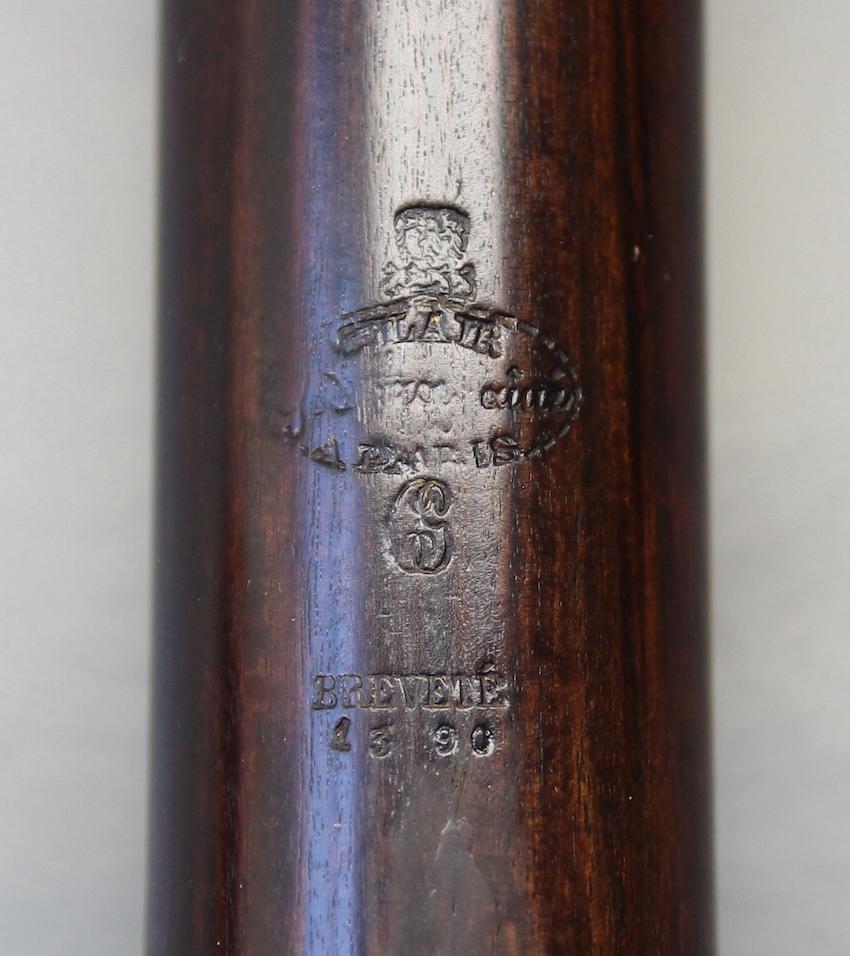 clair godfroy aine paris konische Ringklappenfloete 1832 nr 1390 stempel